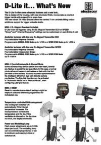 Elinchrom D-Lite it features list