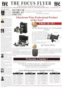 The Flash Centre - Focus On Imaging 2010 offers