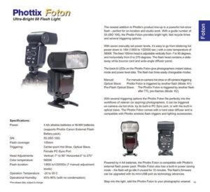 Phottix Foton