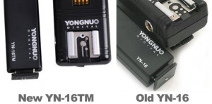 Yongnuo YN-16 and YN-16TM