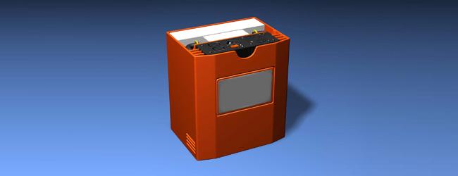 Hobo Lighting Studio Strobe Battery Pack CAD picture
