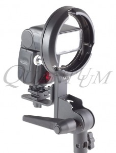 Quantuum BK-3 Bowens speedlight bracket