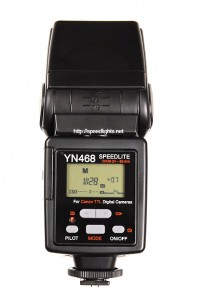 Yongnuo YN-468 (back LCD panel)