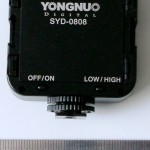 Yongnuo SYD-0808 back panel