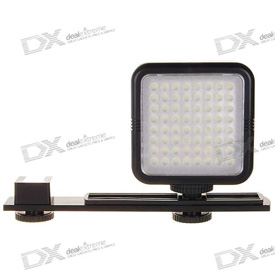 Yongnuo SYD-0808 64-LED light on Dealextreme