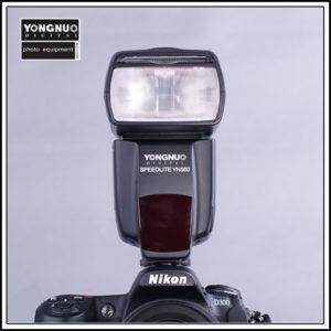 Yongnuo YN-560 on a Nikon D300 DSLR