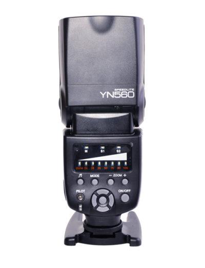 YN560 back control panel