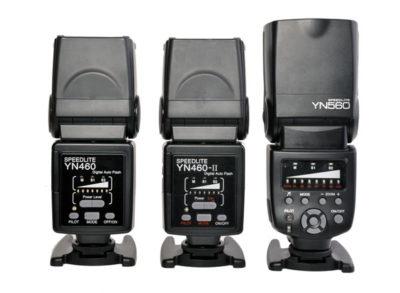 YN560 compared to YN460 and YN-460II
