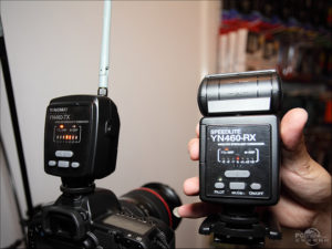 Yongnuo YN460-TX Commander and YN460-RX Wireless Speedlight
