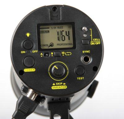 CononMark NID500 control panel
