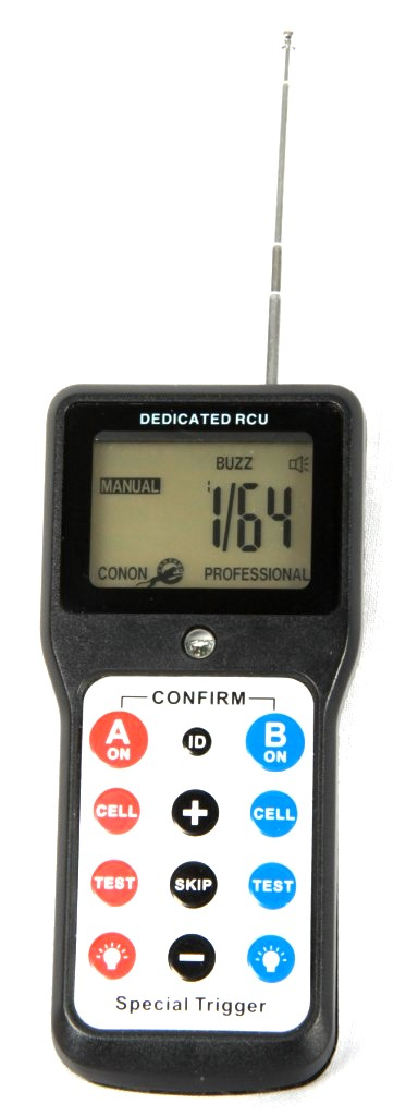 Remote controller for NID 500 flash