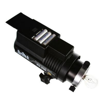 Britek PS-200B battery compartment