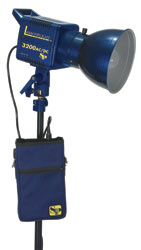 SP Studio Systems Lancerlight SPC3200 and battery pack