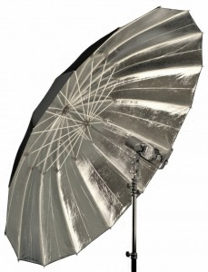 "Hobo Lighting 64"" (162cm) Reflective Parabolic Umbrella"