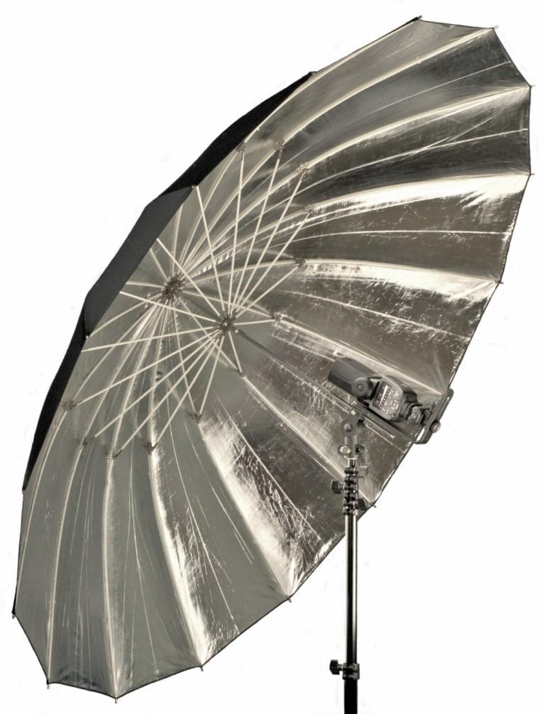 "Hobo Lighting 64"" (162cm) Reflective Parabolic Umbrella"