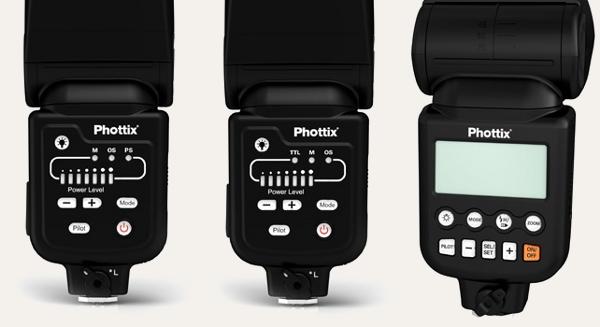 Phottix Foton, Foton TTL and Foton LCD