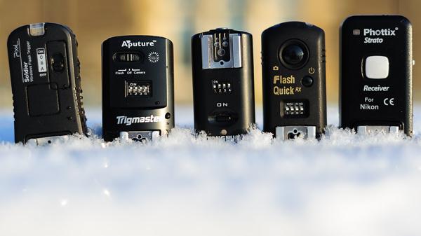 Pixel Soldier, Aputure Trigmaster, Yongnuo RF-602, MeiKe MK-RC7 & Phottix Strato