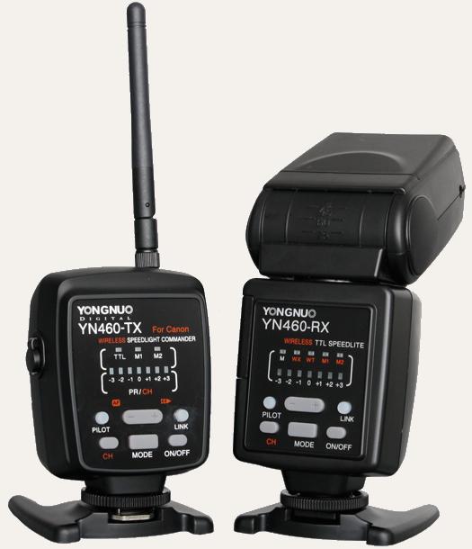 Yongnuo YN460-TX and YN460-RX