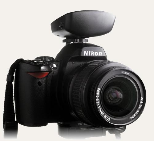 Cactus V5 on a Nikon D40