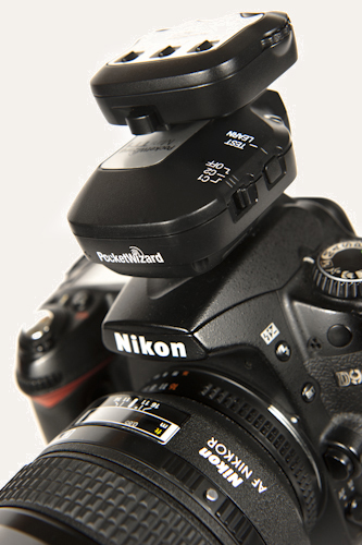 PocketWizard on camera
