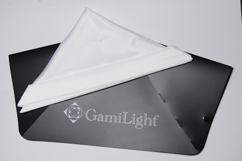 Gami Light Square 43 folded flat
