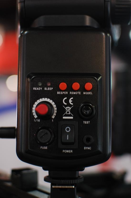 Falcon Eyes SG-100 control panel
