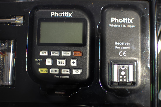 Phottix Odin Wireless TTL Trigger at P&I Shanghai