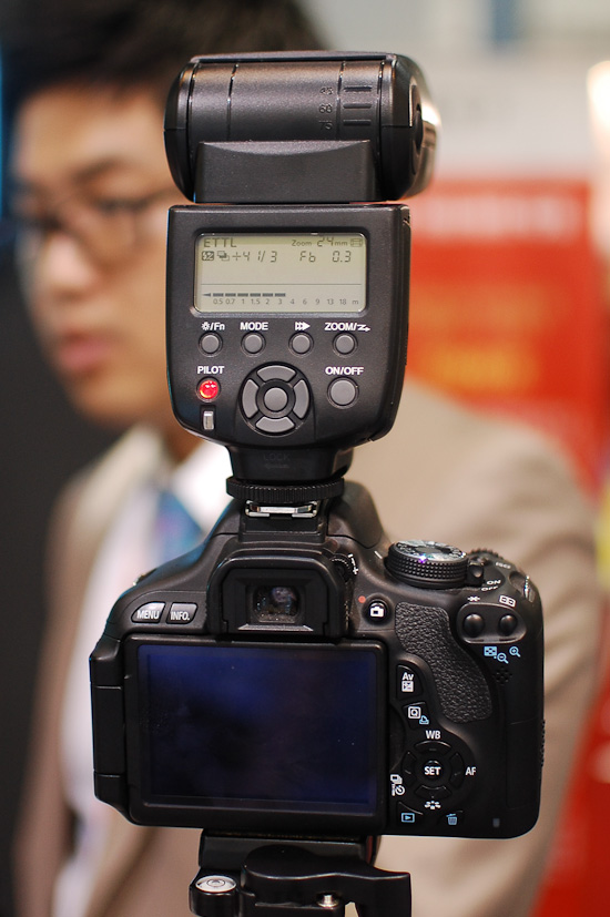 Yongnuo YN-565EX for Canon at P&I Shanghai
