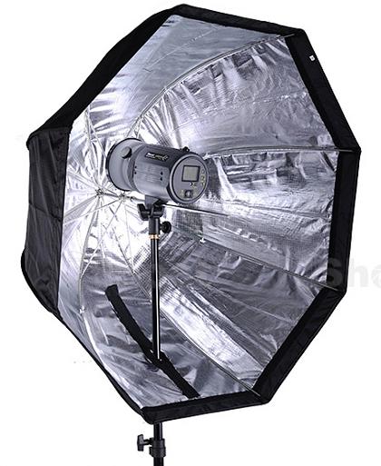 iShoot 80cm Portable Octagonal Reflective Umbrella Softbox