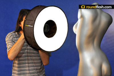 Roundflash in use