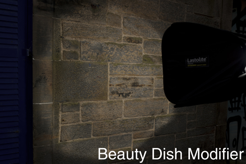 Lastolite Strobo Beauty Box in beauty dish mode