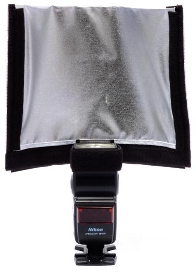 Aurora Portaflex Multiflector, silver side