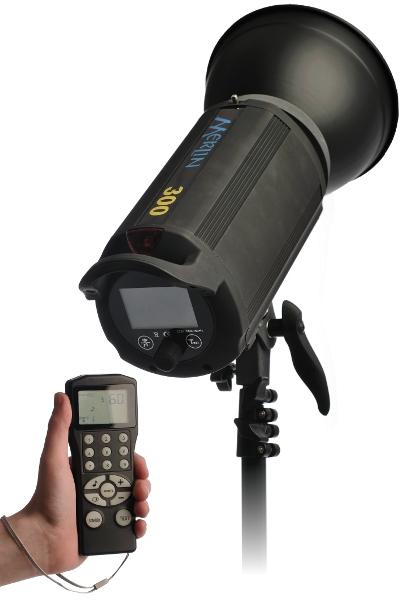 Hobo Lighting Merlin 300 and RM1 remote