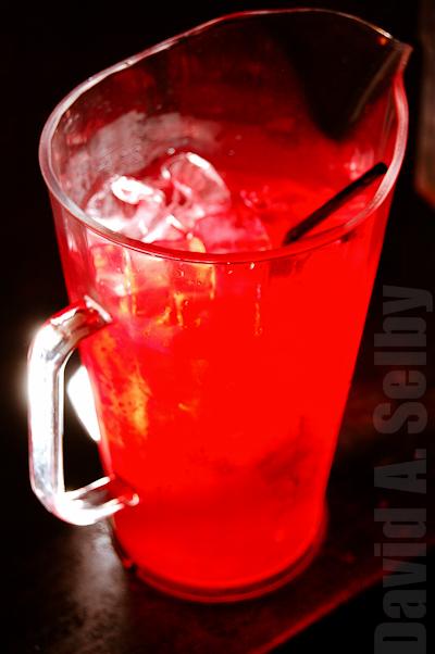 Cocktail pitcher, lit with a Nikon SB-600 via Pixel Componor
