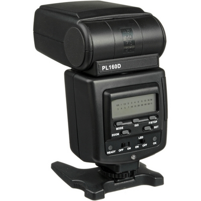 Polaroid Dua Flash PL160 rear view