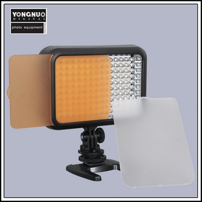 Yongnuo YN-1410 LED Lamp with white and orange filters