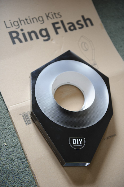 DIY Ring Flash fully assembled