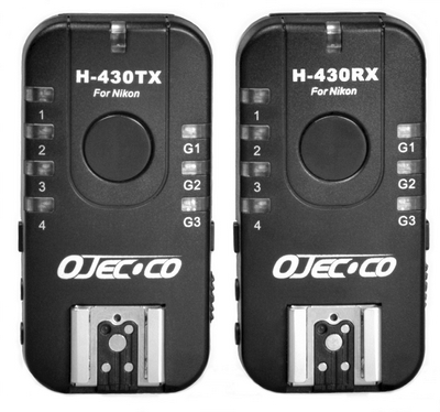 Ojecoco H-430TX and H-430RX for Nikon