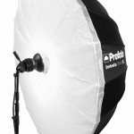 Profoto Umbrella XL Silver with white diffuser attached