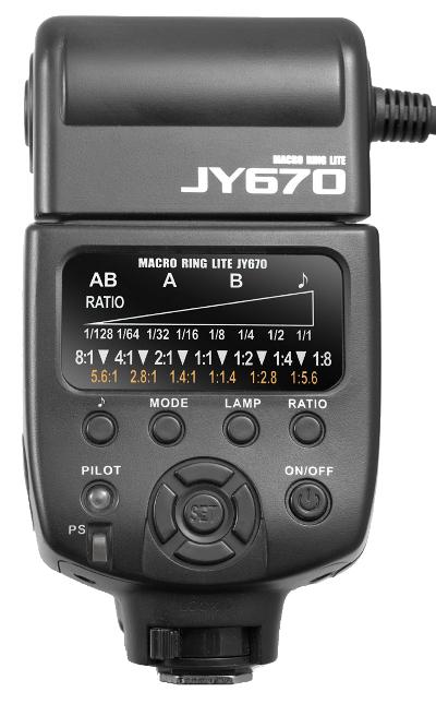 Viltrox JY-670 controls