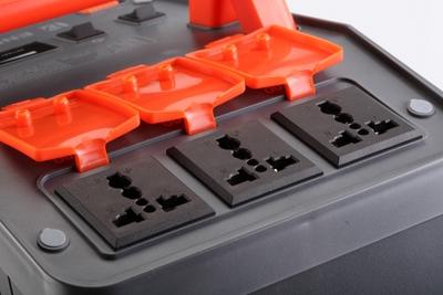 Jinbei Energon EN-760 output sockets