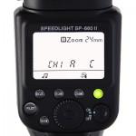 Wireless settings on the SP-660II