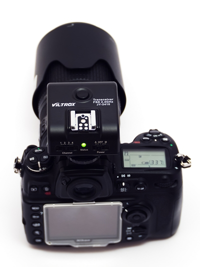Viltrox JY-2410 as an on-camera transmitter