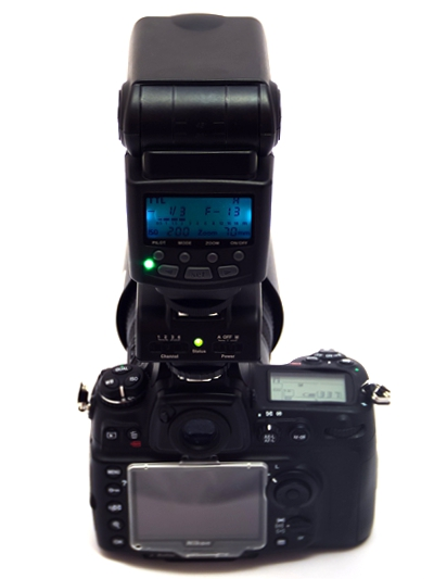 Viltrox JY-2410 with TTL pass-through