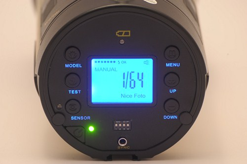 Nice n_flash 480A control panel