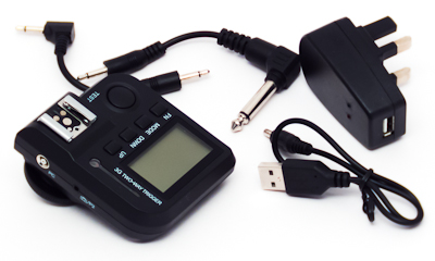 CononMark 3G Two Way Trigger, charger and cables