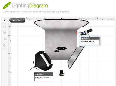 Screenshot from LightingDiagram.com