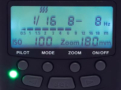 Stroboscopic mode on the MeiKe MK-430