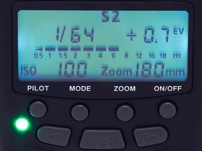 S2 optical slave mode on the MeiKe MK-430