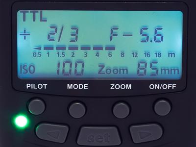 TTL mode on the MeiKe MK-430